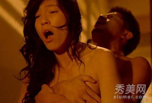 张柏芝范冰冰林熙蕾 女星肉搏床戏被摸奶啃胸[图]