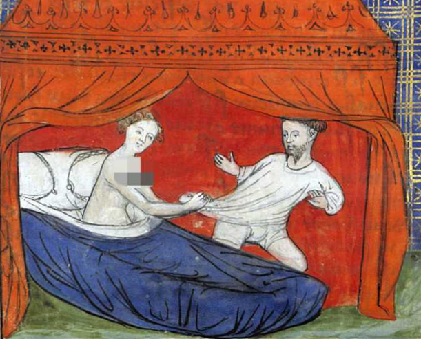 传教士体位是怎么来的?中世纪欧洲的性压抑到了怎样的程度?中世纪的妓女色情小说鼻祖,十日谈里的故事。