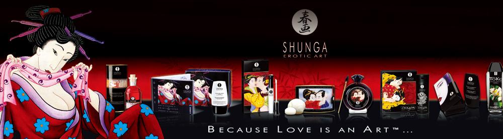 shunga产品由加拿大eauzone精油香水有限公司出品,产品覆盖了润滑液、按摩油、唇彩、沐浴盐、香熏等众多男女情趣用品类别