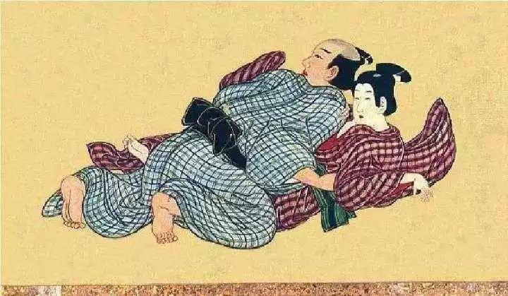 """日本人为画""""小黄图"""",情色产业是如何壮大起来的?起源于风月场所,发迹于花街柳巷。    早期的绘画内容多是艺伎与娼妓。"""